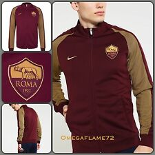 Nike AS Roma Authentic N98  Players Track Jacket 810320-681 Size Med Shirt