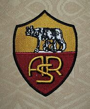 ASR COMME Roma Soccer Football Thermocollant/à coudre Brodé Patch/Badge/Logo