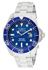 Invicta Men's 12563 Pro Diver Stainless Steel Blue Carbon Fiber Dial Watch