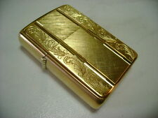 ZIPPO ACCENDINO LIGHTER SERIE PRESTIGE NEW YORKER 554  BRASS  NUOVO