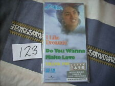 """a941981 Leslie Cheung 張國榮 Made in Japan 3"""" Paper Back CD EP I Like Dreaming + Do You Wanna Make Love 4-track Limited Editon No. 123"""