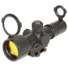 TACTICAL 3-9x40 ILLUMINATED P4 RUBBER ARMORED RIFLE CARRY HANDLE SNIPER SCOPE