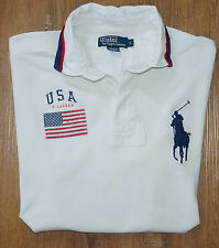 Ralph Lauren Polo Shirt USA Gr.XL