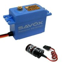 Savox SW-0231MG Waterproof High Torque STD Metal Gear Digital Servo + Glitch Bus