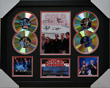 COLD CHISEL MEMORABILIA FRAMED SIGNED LIMITED EDITION 4CD