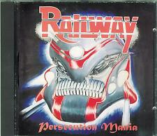 RAILWAY - Persecution Mania / 1995er NEUWARE, new Hardrock - CD / POINT Music !!