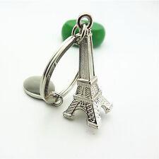 Creative Fashion Eiffel Tower Metal Keychain Key Chain Ring Keyring Keyfob Gift