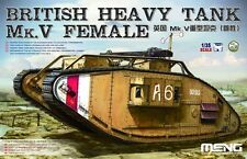 Meng Model 1/35 TS-029 British Heavy Tank Mk.V Female