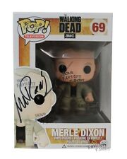 The Walking Dead Merle Dixon 69 Signed By Michael Rooker Funko Pop! Vinyl Figure