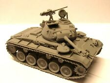 Milicast BA39T 1/76 Resin WWII USA M24 Chaffee Light Tank with Trackguards