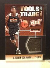 ARCHIE GOODWIN #7 SUNS RC Tools of the trade Shoe 2013/14 panini 2014 National