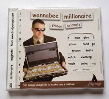 """Wannabee Millionaire"" Fridge Magnets / Poetry 301 Words To Help Make You A Mil"