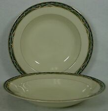 "MIKASA china CLARENDON L3110 pattern SOUP or SALAD BOWL 8-1/2"" set of TWO (2)"