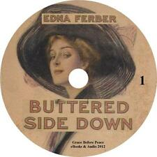Buttered Side Down, Classic Audiobooks by Edna Ferber on 1 MP3 CD