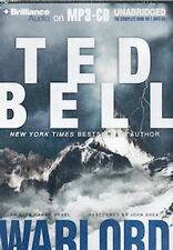 Audio book - Warlord…by Ted Bell     -     MP3-CD