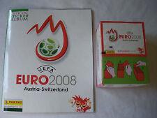 PANINI EM Euro 2008 Sticker-Display - 100 Tüten + Leer-Album NEU