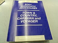 2002 CHRYSLER TOWN & COUNTRY DODGE CARAVAN BODY DIAGNOSTIC PROCEDURE OEM MANUAL