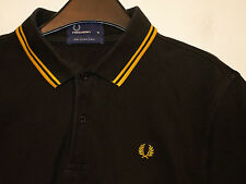 mens Fred Perry twin tipped polo shirt t-shirt M1200 medium M
