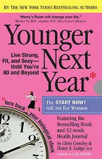 Younger Next Year the Book and Journal Gift Set for Women, Christopher Crowley