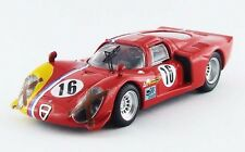 BEST MODEL BES9578 - Alfa Romeo 33.2 coupé #16 SPA - 1968    1/43