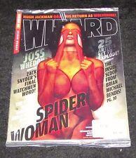 Wizard Magazine Issue 211 Sealed in Bag NEW Joss Whedon Zach Snyder's Watchmen