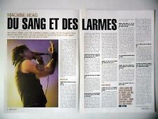 COUPURE DE PRESSE-CLIPPING :  MACHINE HEAD [2pages] 03/2003 Rob Flynn,Hellalive