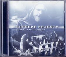 SUPREME MAJESTY ‎– Tales Of A Tragic Kingdom CD MASSACRE 2001