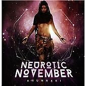 Neurotic November - Anunnaki (2013)  CD  NEW/SEALED  SPEEDYPOST