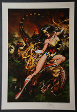 Wonder Woman Justic League #7 Michael Turner Aspen Art Print