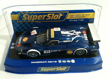 qq H 2904 SUPERSLOT MASERATI MC12 PLAYTEAM No 11  SARA - Scalextric UK -