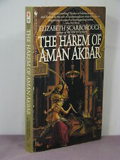 1st, signed by 2, The Harem of Aman Akbar by Elizabeth Ann Scarborough (1984)