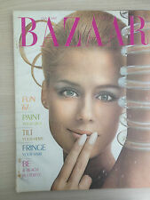 "Magazine Harper's BAZAAR January 1967 ""FUN '67"" Collection Vintage Mode"