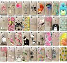 NEW Fashion Animal Pattern Slim TPU Phone Case Cover for Iphone 5 5C 6 6S Plus