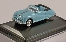Nice 1/76 Austin Atlantic convertible Ming Blue Oxford Diecast Swansea Wales