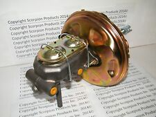 "GM 11"" Power Brake Booster Master Cylinder Disc/Drum Chevelle Camaro Nova"