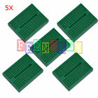 5pcs Green 170 Tie-points Mini Solderless Prototype Breadboard for Arduino