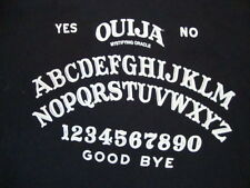 Ouija Board Game Mystifying Oracle Horror Scary Movie Black T Shirt XL