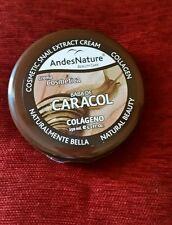 CREMA COSMETICA DE BABA DE CARACOL CON COLAGENO NATURAL BEAUTY ANDES NATURAL