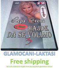DVD LEPA BRENA HAJDE DA SE VOLIMO 3 FILM 1990 Serbia Bosnia Croatia Serbian top