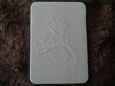 Sizzix Sizzlits FLOWER ROSE LEAVES #2 Medium Die Cutter Fit Cuttlebug & Big Shot