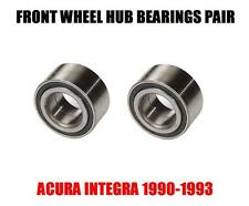 Acura Integra Front Wheel Hub Bearing 1990-1993 PAIR