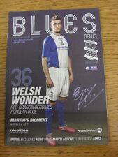 29/03/2014 Birmingham City v Bournemouth  . Good condition unless previously sta