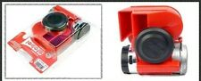 Stebel Nautilus Compact 12volt Car/4x4/ Motorcycle Air Horn Red 139dB :GPNTC 12R
