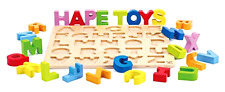Alphabet Stand Up Kid's Wooden Learning Puzzle Non Toxic Child Safe Materials