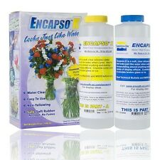 NIB! Smooth-On ENCAPSO K  Water Clear Encapsulation / Display Rubber 2 lb. Kit
