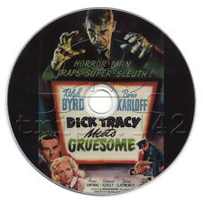 Dick Tracy Meets Gruesome (1947) Ralph Byrd Action, Crime, Drama Movie on DVD