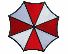 "Velc. Resident Evil Umbrella Corporation Logo Iron on Patch 3.5"" Fastener hook"