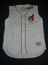 AUTHENTIC Russell Athletic CLEVELAND INDIANS Jersey 52 2XL NWT Kluber Lindor