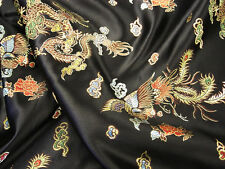 Chinese Fabric Dragon Brocade Dress Fabric Fashion Fabric Dressmaking