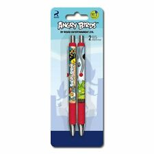 Set of 2 Angry Birds Gel Pens - 0.7 Black Retractable